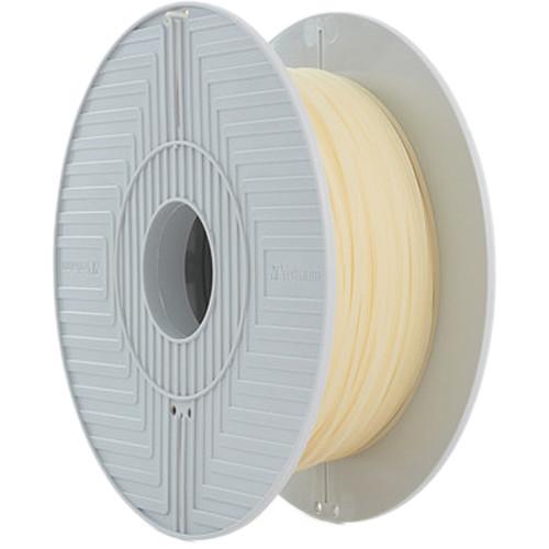 """Verbatim BVOH 1.75mm Filament for 3D Printers (7.87"""" Spool, 1.1 lb., White)"""