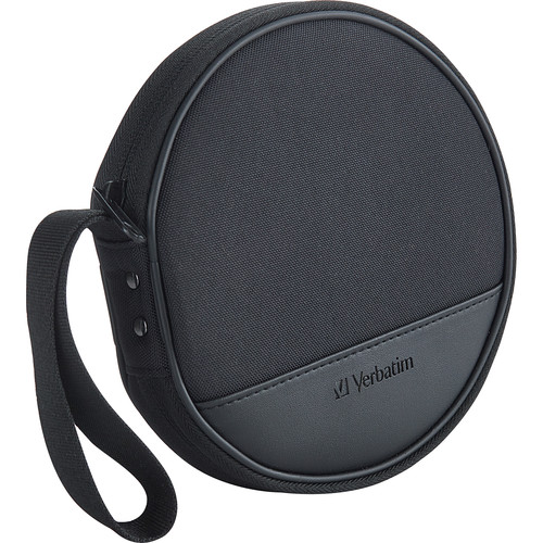 Verbatim CD/DVD Storage Wallet (Black, Holds 24 Discs)