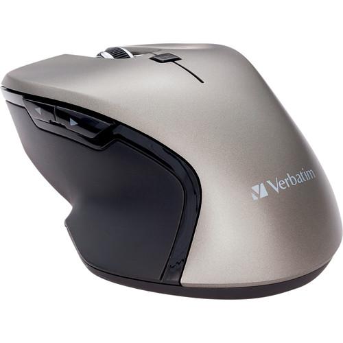 Verbatim Wireless Blue LED USB Type-C Mouse (Graphite)