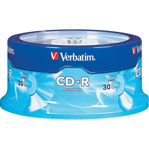 Verbatim CD-R 700 MB 52x Recordable Disc (Spindle Pack of 30)