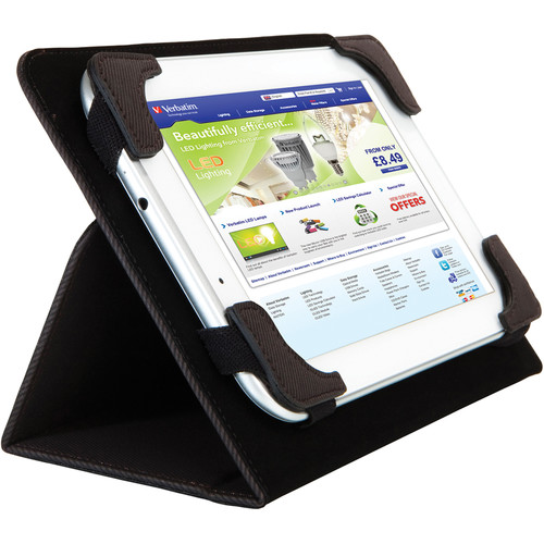"Verbatim Universal Folio Case for 10"" Tablet or e-Reader"