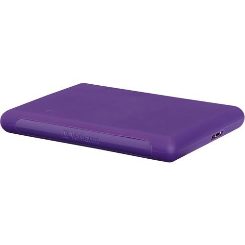 Verbatim 1TB Titan XS Portable Hard Drive (Purple)
