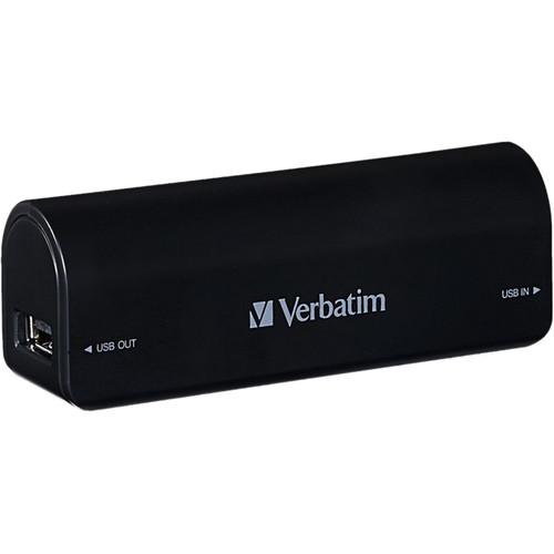 Verbatim 2600mAh Portable Power Pack (Black)
