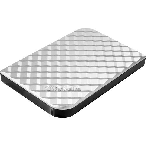 Verbatim 1TB Portable USB 3.0 Hard Drive (Silver)