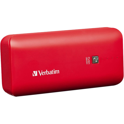 Verbatim 4400mAh Portable Power Pack (Red)