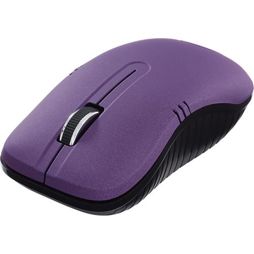 Verbatim Commuter Series Wireless Notebook Optical Mouse (Matte Purple)