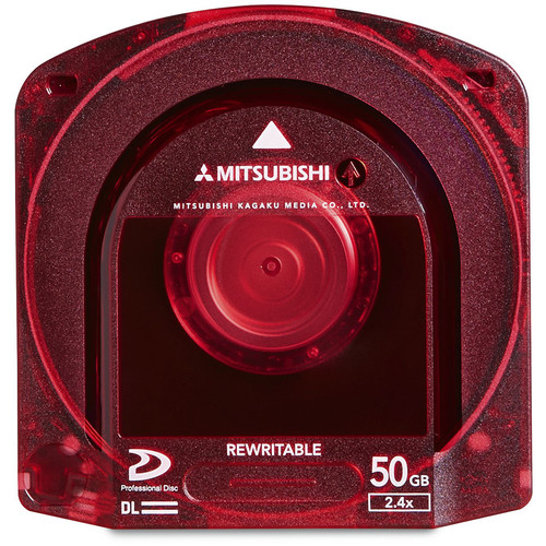 Verbatim Mitsubishi 2.4x Professional Disc for Sony XDCAM Camcorder (50GB)