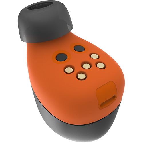 VerveLife by Motorola VerveOnes+ Music Edition Bluetooth Wireless Earbuds (Black/Flame)