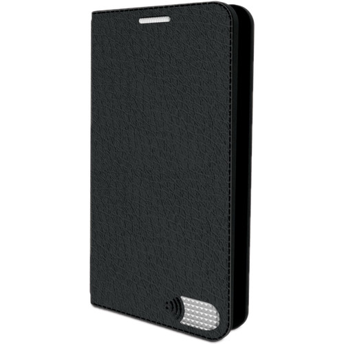 VEST iPhone 7 Anti-Radiation Wallet Case - Black