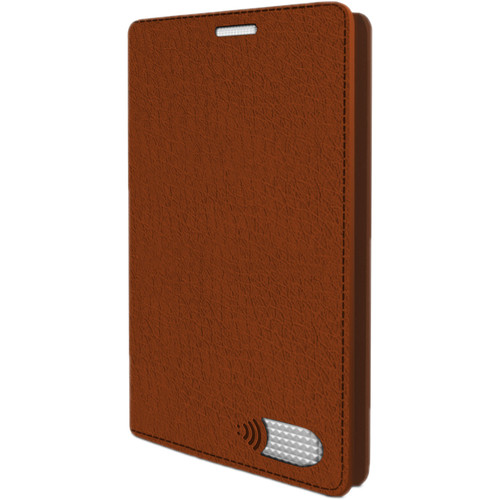 VEST iPhone 7 Anti-Radiation Wallet Case - Brown