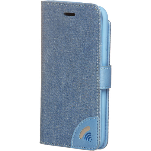 VEST Anti-Radiation Wallet Case for iPhone 7 (Jeans)