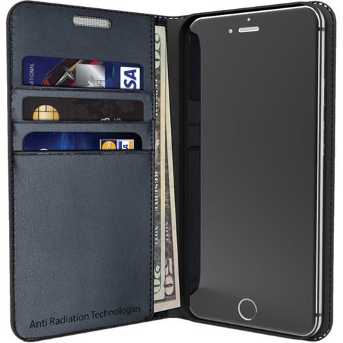 VEST Anti-Radiation Wallet Case for iPhone 6 Plus/6s Plus (Black)
