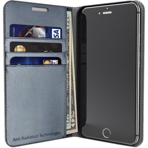 VEST Anti-Radiation Wallet Case for iPhone 6 Plus/6s Plus (Gray)