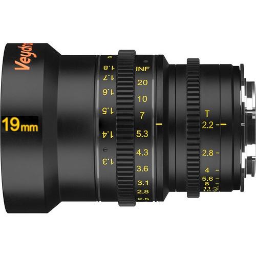 Veydra 19mm T2.6 Mini Prime Lens (MFT, Meters)