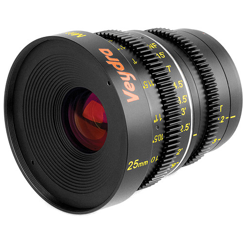 Veydra 25mm T2.2 Mini Prime Lens (MFT Mount, Metric)