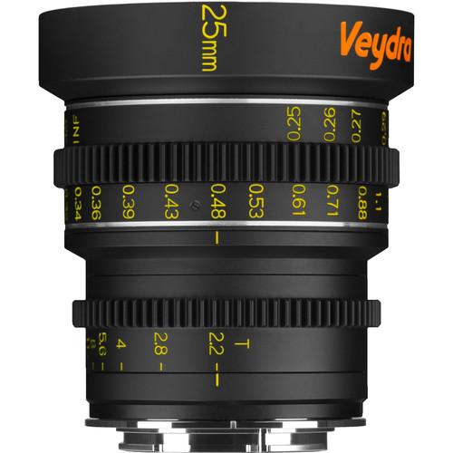 Veydra 25mm T2.2 Mini Prime Lens (Sony E-Mount, Metric)