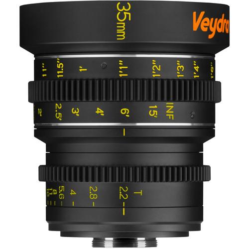Veydra 35mm T2.2 Mini Prime Lens (C-Mount, Feet)