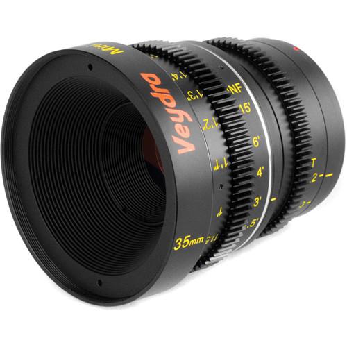 Veydra 35mm T2.2 Mini Prime Lens (MFT Mount, Meters)