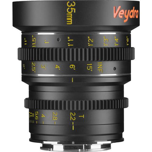 Veydra 35mm T2.2 Mini Prime Lens (Sony E-Mount, Feet)