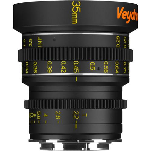 Veydra 35mm T2.2 Mini Prime Lens (Sony E-Mount, Meters)