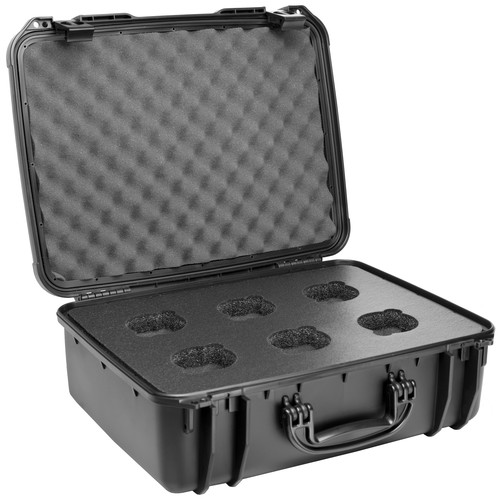 Veydra 6-Hole Custom Hard Lens Case