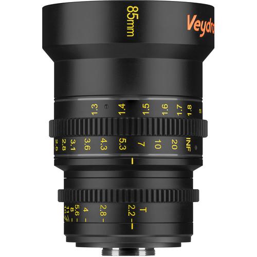 Veydra 85mm T2.2 Mini Prime Lens (C-Mount, Meters)