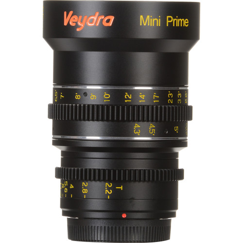 Veydra 85mm T2.2 Mini Prime Lens (MFT Mount, Feet)