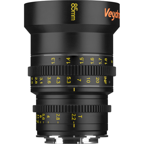 Veydra 85mm T2.2 Mini Prime Lens (Sony E-Mount, Meters)