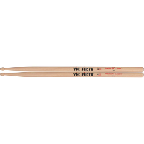 VIC FIRTH American Classic Hickory Drumsticks 5A