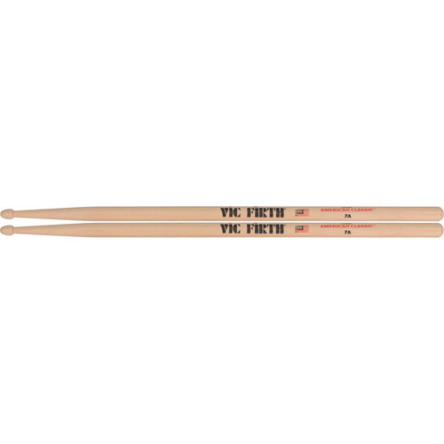 VIC FIRTH American Classic Hickory Drumsticks 7A