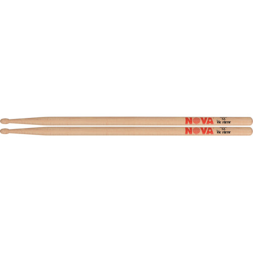 VIC FIRTH Nova Series N5AN Economy Drumstick Nylon Tip