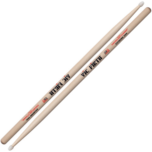 VIC FIRTH American Classic Nylon Tip Hickory Drumsticks Extreme X5AN