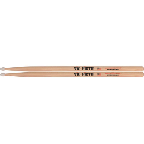 VIC FIRTH American Classic Nylon Tip Hickory Drumsticks Extreme X5BN