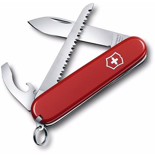 Victorinox Walker Pocket Knife (Red, Clamshell Packaging)