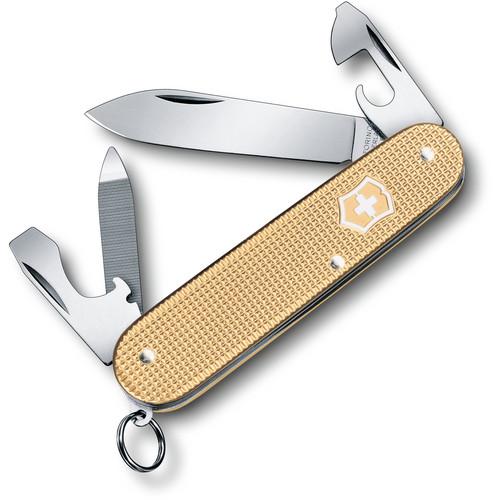 Victorinox Cadet Alox Pocket Knife 2019 Limited Edition (Champagne-Gold)