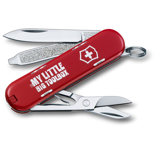 Victorinox Classic SD Pocket Knife (My Little Big Toolbox)