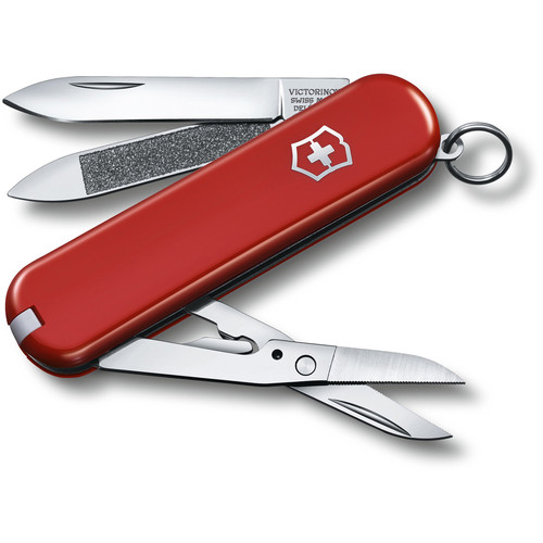 "Victorinox Executive 81 Pocket Knife (2.6"", Red)"