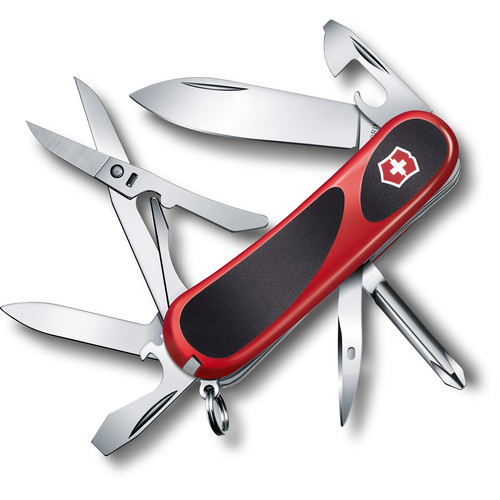 Victorinox EvoGrip 16 Pocket Knife (Red/Black)