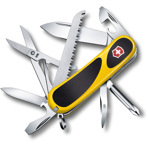 Victorinox Evolution Grip 18 Folding Knife (Yellow/Black)
