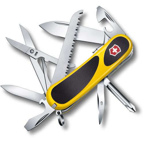 Victorinox Evolution Grip S18 Pocket Knife (Yellow/Black)