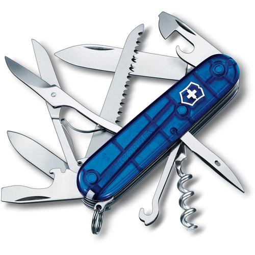 Victorinox Huntsman Pocket Knife (Sapphire)