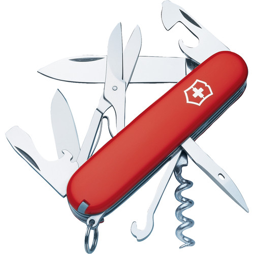 Victorinox Climber Pocket Knife (Red)
