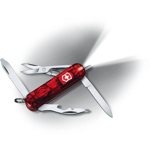 Victorinox Midnite Manager Multi-Purpose Pocket Knife (Ruby)