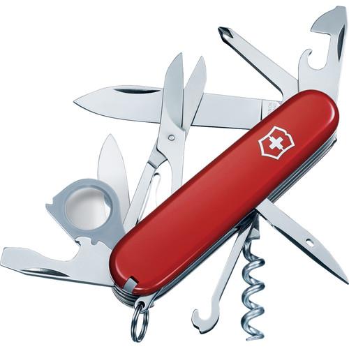 Victorinox Explorer Pocket Knife (Red)