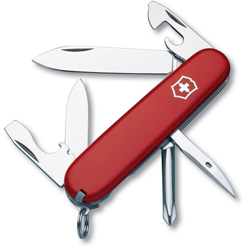 Victorinox Tinker Pocket Knife (Red, Clamshell Packaging)