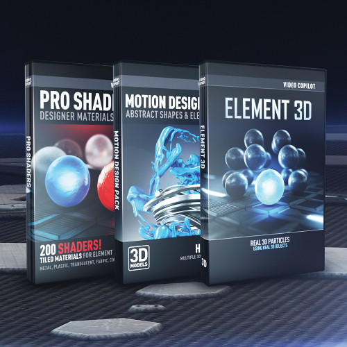 Video Copilot 3D Design Bundle (Download)