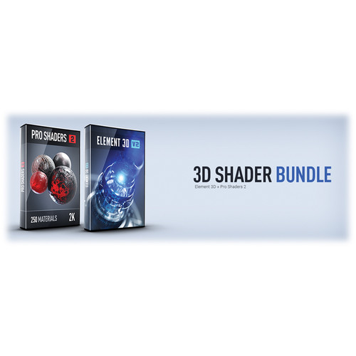 Video Copilot 3D Shader Bundle (Download)
