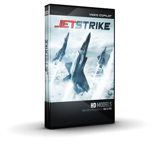 Video Copilot JetStrike 3D HD Models (Electronic Download)