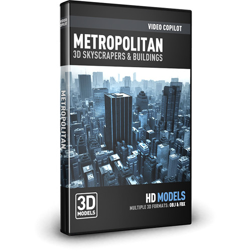 Video Copilot Metropolitan Pack: 3D Skyscrapers and Buildings