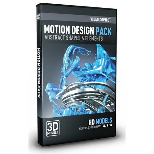 Video Copilot Motion Design Pack: Abstract Shapes & Elements